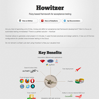 Howitzer - automated testing